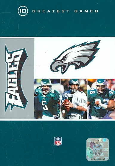 NFL PHILADELPHIA EAGLES 10 GREATEST G (DVD) [10 DISCS]