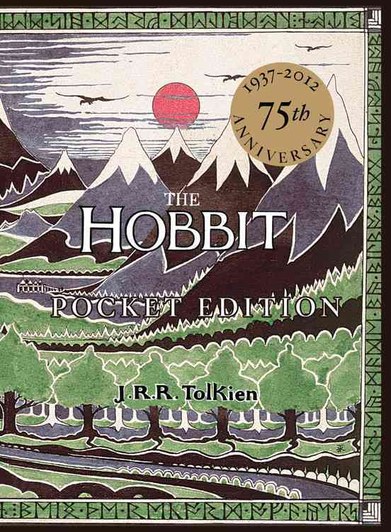 The Hobbit: Or, There and Back Again (75th Edition, Anniversary) by Tolkien, J. R. R. [Hardcover]